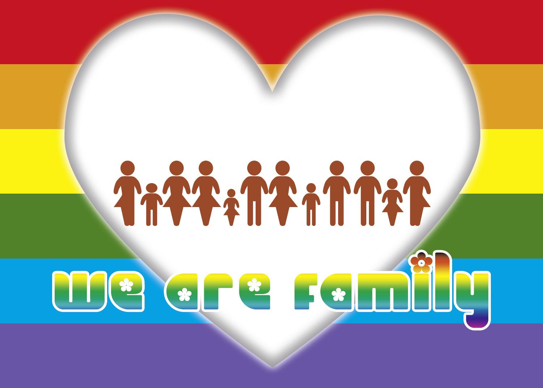 WE ARE FAMILY - Werbekarte von sdvc.de - v20191031